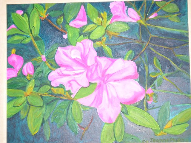 """Azaleas in the Morning"""